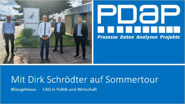 Dirk Schrödter auf Sommertour bei PDAP